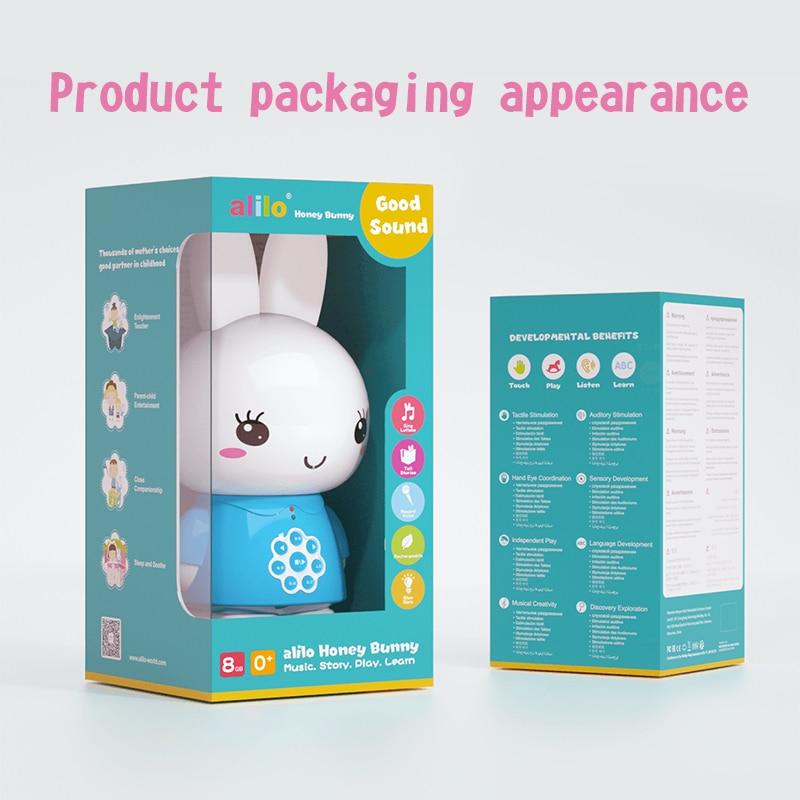 Alilo Honey Bunny G6 sing rabblit story machine детская игрушка для малышей, обучение раннему образованию, подарок на 0-6 лет, умный робот cozmo