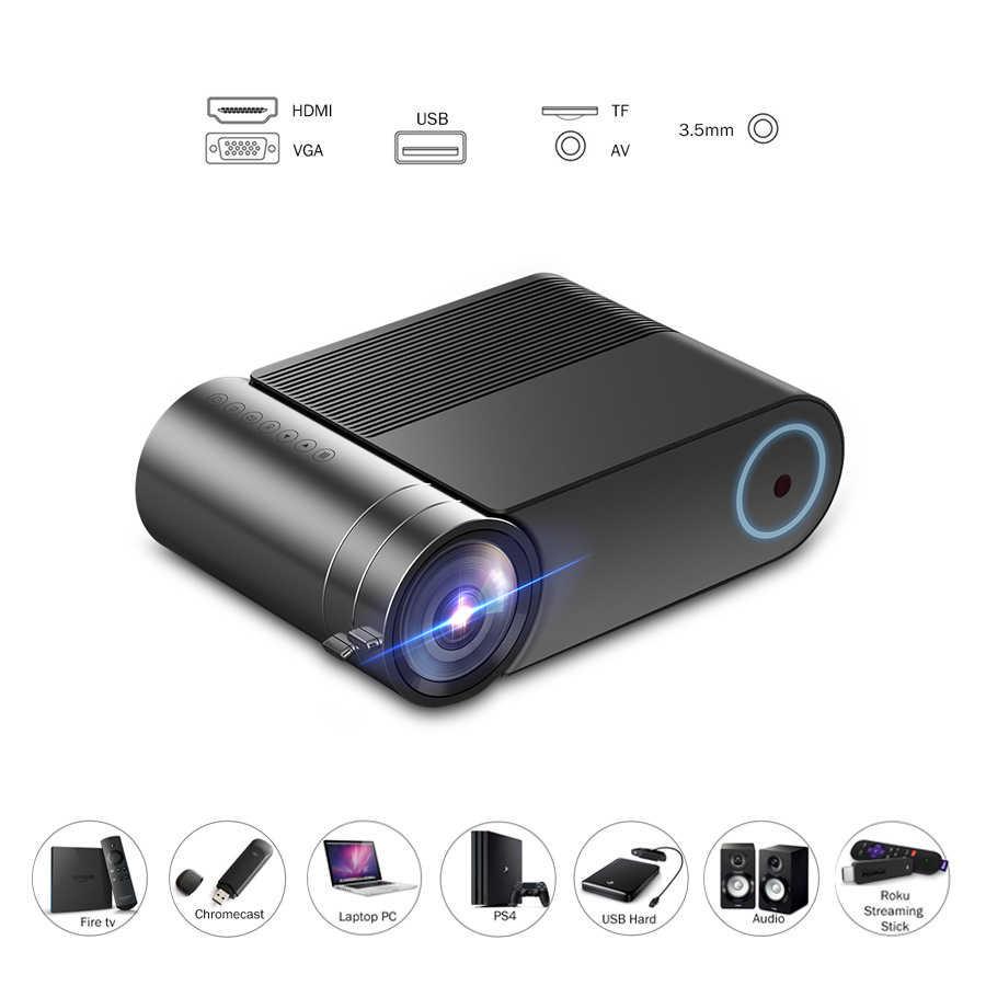 Vivicine 720 P HD LED Proyektor, pilihan 9.0 Portable HDMI USB 1080 P Home Theater Projector Bluetooth WIFI Mini LED Proyektor