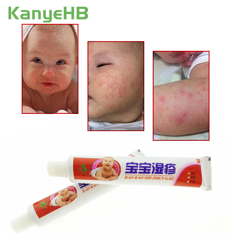 1pcs Baby Eczema Cream Psoriasis Pruritus Dermatitis Itching Repair Skin Chinese Herbal Medical Plaster Ointment S011