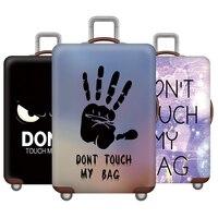 Verdicken reise Gepäck abdeckung elastizität Gepäck Schutz Abdeckungen fall für koffer Geeignet für 18-32 zoll Kostenloser Versand