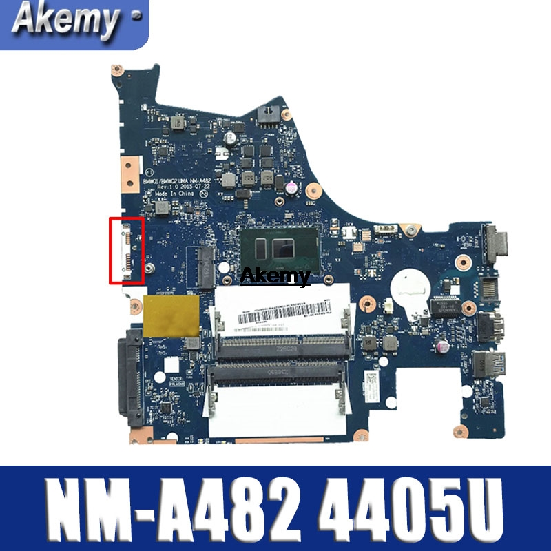 Genuine New BMWQ1/BMWQ2 NM-A482 Mainboard For Lenovo Ideapad 300-15isk Laptop Motherboard With Intel 4405 Cpu