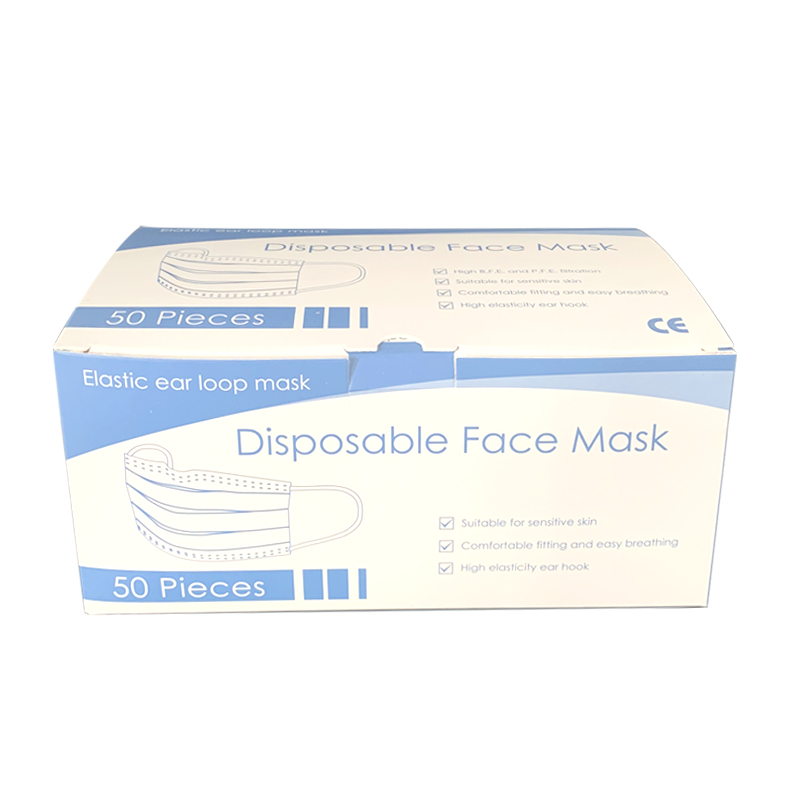 Image 4 - 3ply Face Mask Anti dust Disposable Mouth Soft Breathable Face 