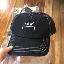 Men Women Caps A-COLD-WALL* Baseball Cap 2019 New Casual Outdoor A-COLD-WALL Hats  Black/White Acw Hat Vetements