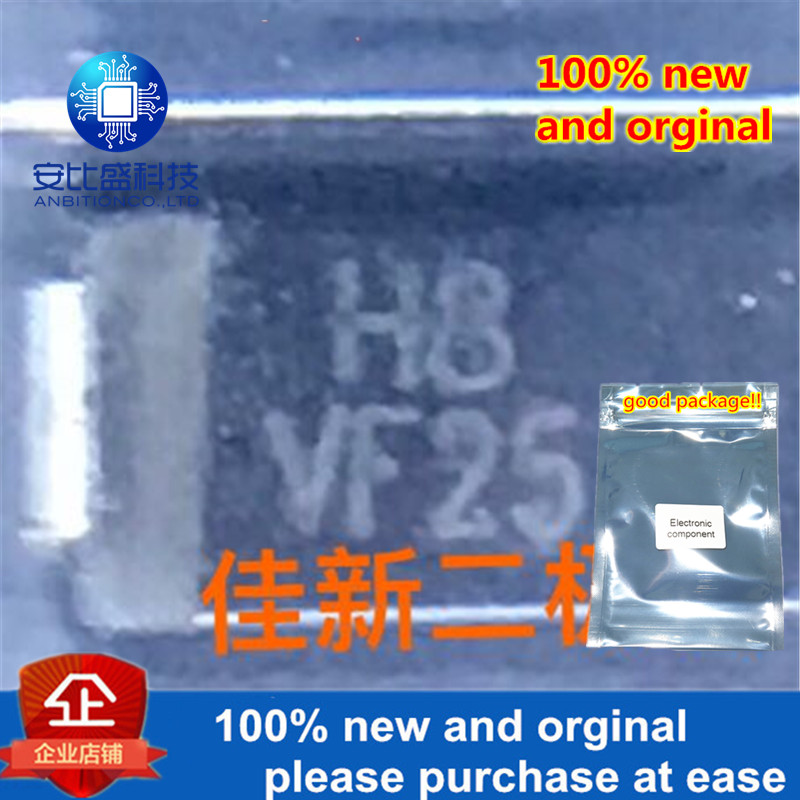 100pcs 100% New And Orginal HFM108 1A1000V Ultrafast Recovery Diode DO214AC Silk-screen H8 In Stock