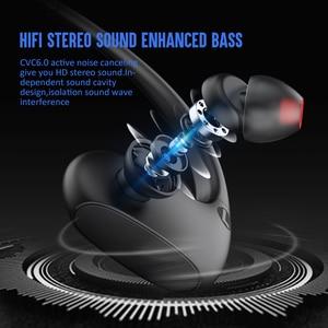 Image 2 - Dacom L05 Basgeluid Sport Bluetooth Headset Draadloze Hoofdtelefoon IPX7 Waterdichte Draadloze Stereo Headset Voor Iphone Xiaomi Huawei