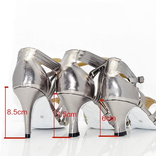 Women's Latin Dance High-Heeled Shoes