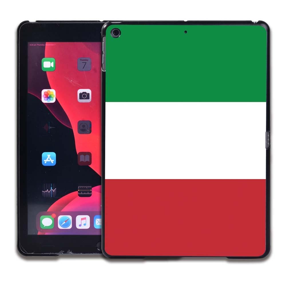9.Italian flag Brown Tablet Hard Back for Apple IPad 8 2020 8th Gen 10 2 A2270 A2428 Z2429 Z2430