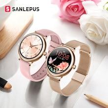 SANLEPUS – montre connectée de luxe pour femmes, pour Android et Apple, cadeau de noël pour femme et petite amie, nouvelle collection 2021