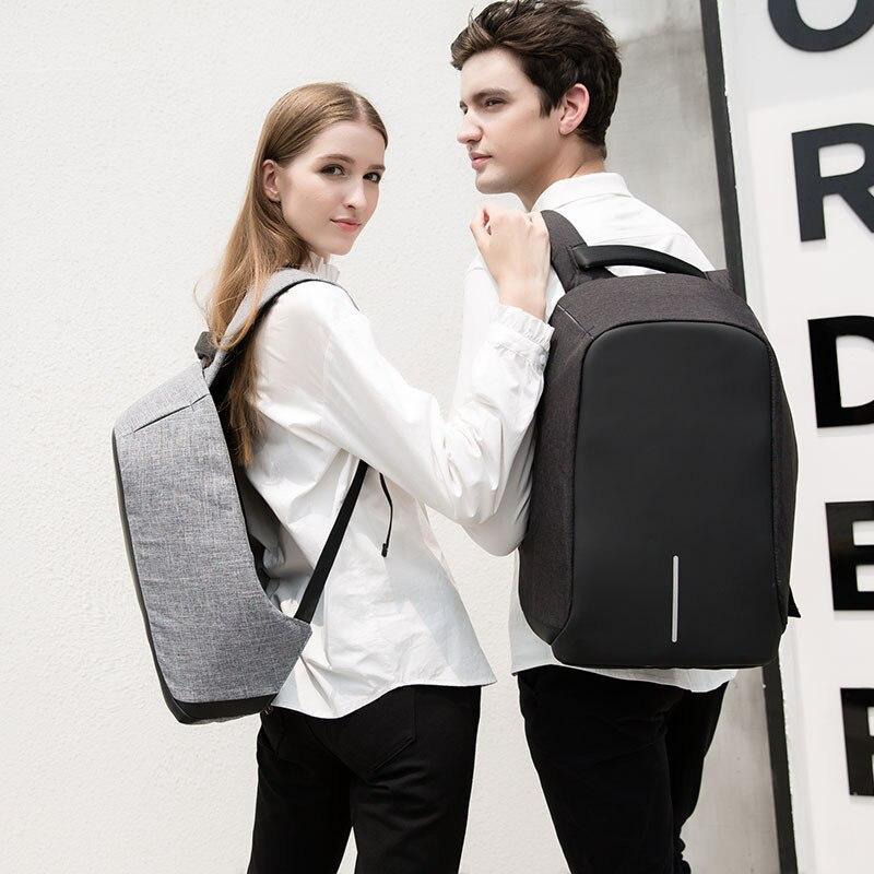 Extension Thomas sac à dos antivol Oxford tissu sac à dos décontracté hommes USB charge collège étudiant sac d'école fabricants