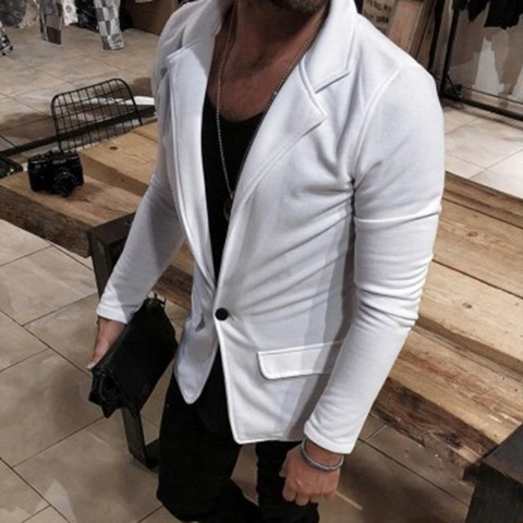 HEFLASHOR Luxury Men Blazers Hombre Casual Vintage Business Casual Blazer 2019 Autumn Jacket Smart Coat Suit Formal Blazers Lahore