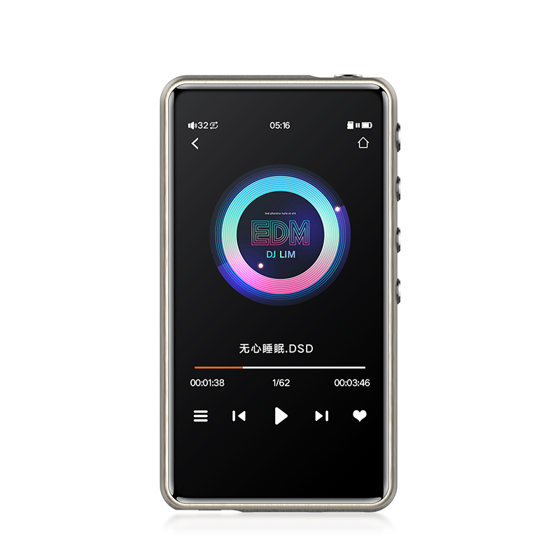 JWM-115 Smart DSD Mastering MP3 Player Professional Lossless HiFi Protable MP3 Player Hard Solution Balanced Amplifier Z2 Z3