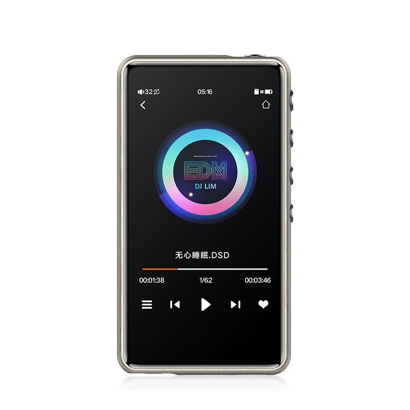 JWM-115 Smart DSD maîtrisant lecteur MP3 professionnel sans perte HiFi portable lecteur MP3 Solution dure amplificateur équilibré Z2 Z3