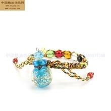 Vinistyle Night Light Coloured Glaze Essential Oil Bottle Colorful Ropes Bracelets Fragranc