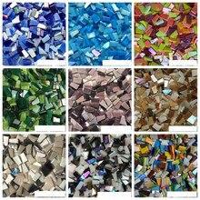 Decorative-Materials Wall-Tiles Irregular-Mosaic-Tiles Crafts Hobbies DIY Glass 100g