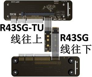 Image 5 - Support pour carte graphique externe M.2 pour NVMe, avec câble de Riser 25 cm50 cm 32gbs, support pour carte graphique externe avec câble PCIe3.0 x4 pour ITX STX NUC VEGA64 GTX1080ti