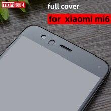 Protecteur décran pour Xiaomi Mi6 couverture complète verre trempé clair 2.5d 0.3mm Mofi Ultra mince 9H protecteur décran Xiaomi Mi6 verre