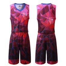 Уникальный дизайн баскетбольная Джерси сублимационная печать