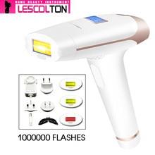 100% Original Lescolton New Upgrade IPL Laser Hair Removal Machine Laser Epilator Permanent Depilator Electric 700000Pulse