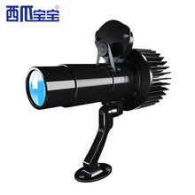 Led Hd Projection Lamp Rotating Outdoor For Advertising Gobo Projector With Manual Zoom Customized Logo Projector Shop Window