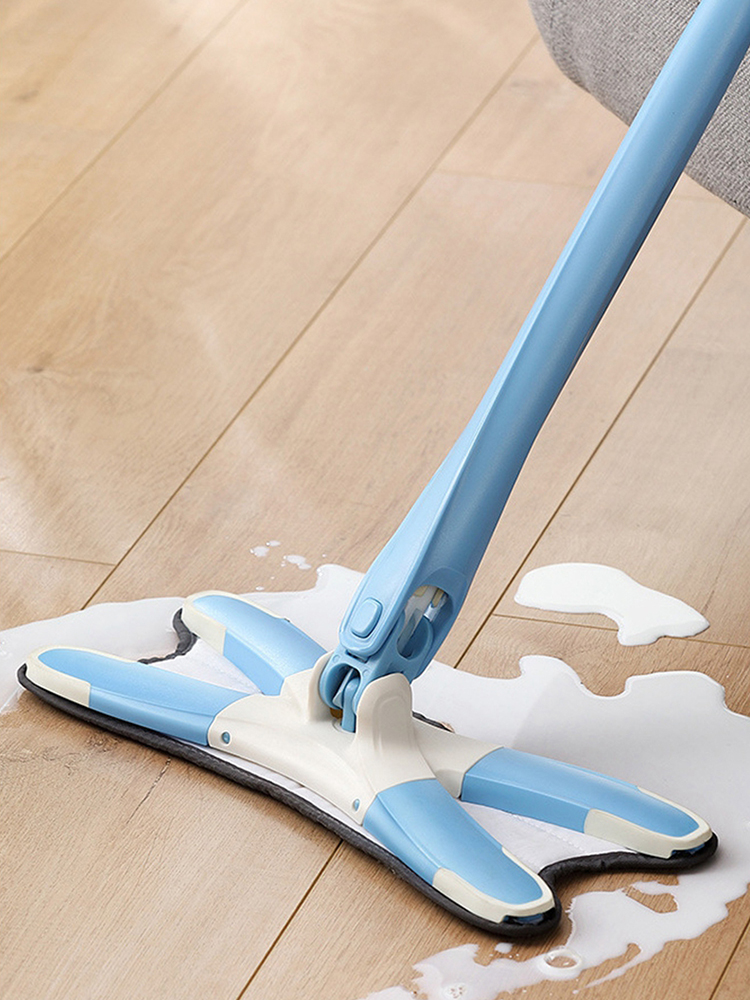 Mops Tiles Microfiber-Pads Cleaning-Tool Floor-Mop Ceramic Wood X-Type Flat 360-Degree