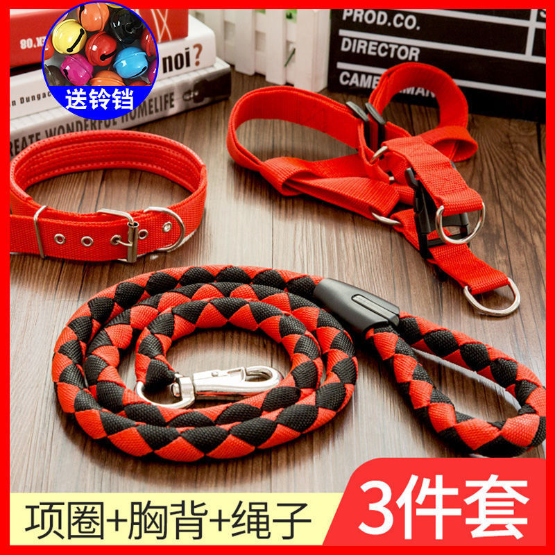 Dog Hand Holding Rope Dog Chain Large Medium Small Dogs Dog Collar Teddy Golden Retriever Dog Rope Pet Supplies