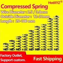 HotXYZ sprężyny naciskowe cewki typ Y sprężony wirnik powrotny sprężyna ze stali sprężynowej 65Mn średnica drutu 2 5mm 3 0mm tanie tanio NONE Metalworking CN (pochodzenie) STEEL Spirala FURNITURE compression Y-type