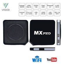 Vmade Mxpro Media Player Amlogic S905X Quad Core ARM Coretex-A53 Up to 2.0GHz Android 6.0 H.265 1GB