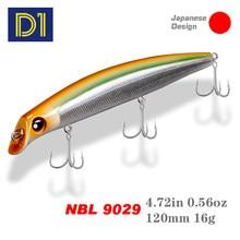 Noeby minnow & lápis iscas de pesca 120mm/150mm 16g/24g 0-1.2m flutuante hard wobblers iscas artificial jerkbaits pique tackle