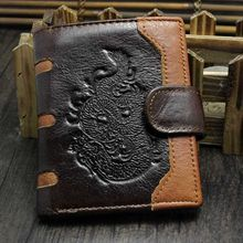цены Men Genuine Leather Wallet ID Credit Card Holder Clutch Bifold Pocket Coin Purse F42A