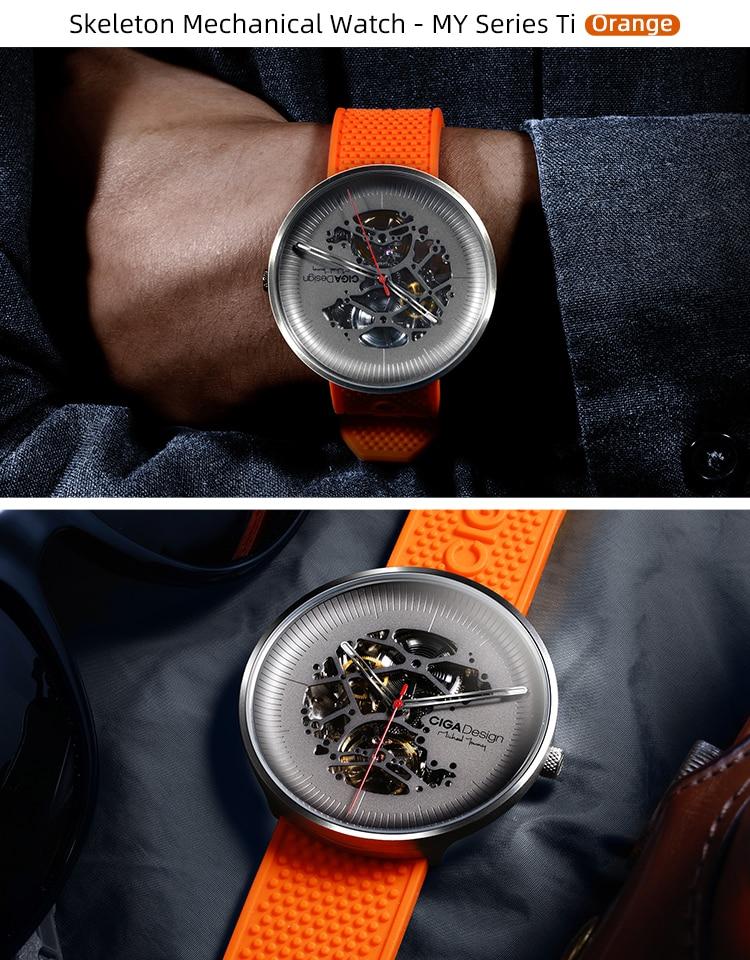 H75030d0a72cd4df799806b4232c5598eS CIGA DSIGN MY Series Titanium Dial Watch Automatic Mechanical