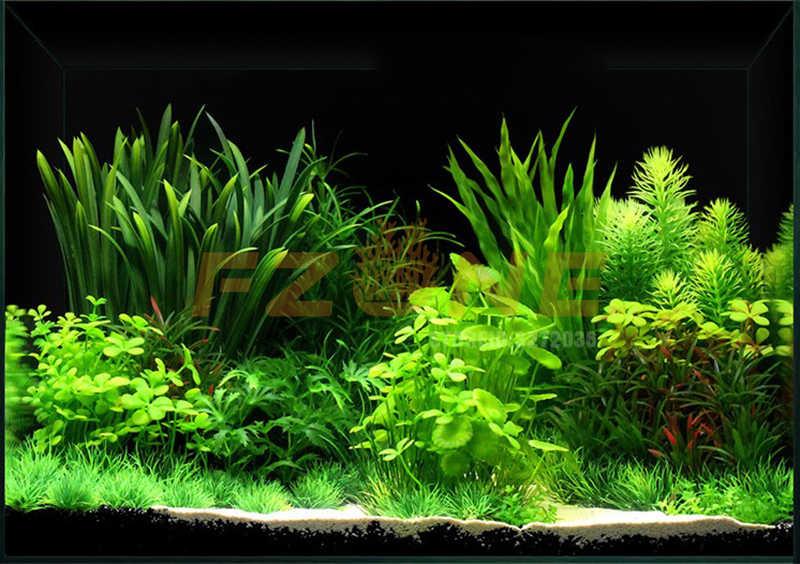 Gorąca sprzedaż sztuczne rośliny akwariowe dekoracja do akwarium zatapialne kwiat trawa ozdoba dekoracyjna 10-40cm 15 style opcjonalne