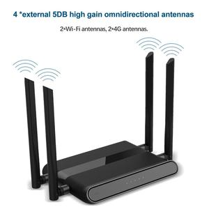 Image 5 - 4G Wi Fi router africa 4Port Router with SIM card USB WAP2 802.11n/b/g 300Mbps 2.4G router LAN WAN 10/100M PCI E router wireless