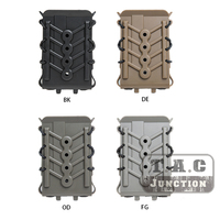 For 7.62 Tactical Magazine Pouch Mag Carrier Protection Case Paintball Airsoft Back Clip Military Magazine Pouch For M4 M16 G36