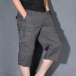 Мужские повседневные шорты, однотонные свободные шорты с эластичной резинкой на талии, kx913-1-15, лето 2019