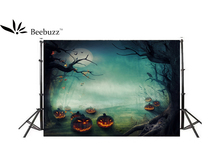 Beebuzz photo backdrop halloween castle cartoon background
