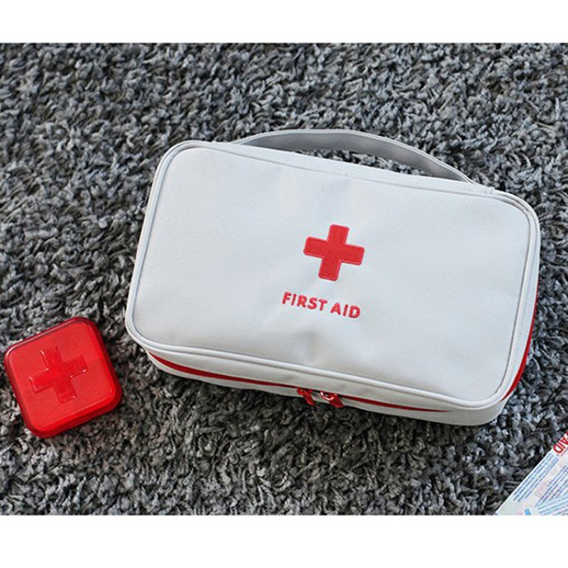 Clearance SaleCar-Kits-Bag Empty-Bag First-Aid-Kit Survival-Kit Travel Outdoor Waterproof Emergency Medical