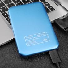 Portable External Hard Drive  500GB/1T/2T Mobile 2.5inch USB 3.0  High-Speed HDD Storage Hard Disk Drive for PC Laptop portable external hard drive disk usb3 0 hdd storage for one desktop laptop 2 5