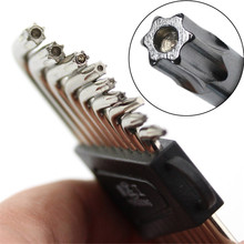 9 Pcs High Quality Cheap Hex Key Set Wrench Cycling Repair Screwdriver
