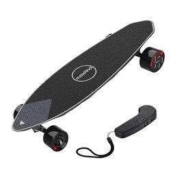Электрический скейтборд Многофункциональный торможение Скейтбординг четырехколесный привод Лонгборд Bluetooth удаленный водонепроницаемый ...