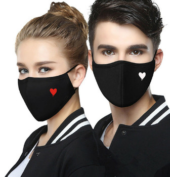 mask for face black Adult Couple Printing Mask Outdoor Cycling Breathable Sports Outdoor Mask Shield Masque Adult Mascarillas