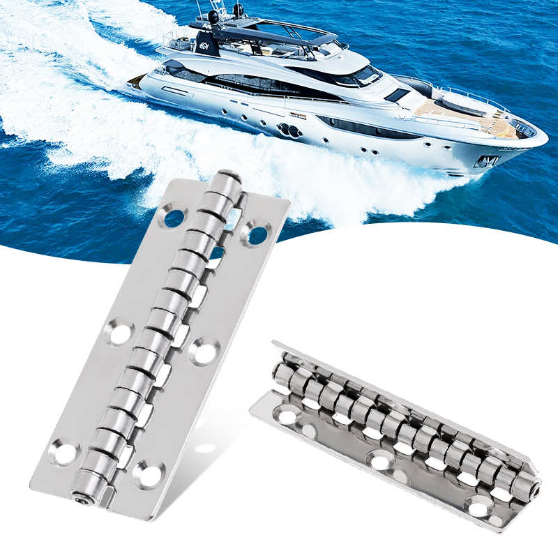 1 Pcs Stainless Steel Marine Boat Yacht Door/Hatch Piano Hinge Deck Cabin Hinge Hardware Smooth Pivot 3.15 X 1.18 Inch