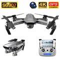SG907 Drone GPS 4K HD 50X Zoom Weitwinkel Dual Kamera 5G WIFI FPV Faltbare Selfie Drohnen Berufs folgen Mich RC Quadcopter