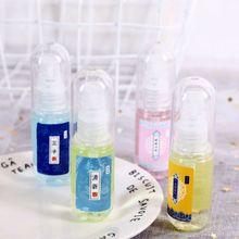 Креативный корейский стиль губная помада Форма 30 мл Портативный Миниатюрный антисептик для рук распыляемая жидкость увлажняющий Антибактериальный случайный цвет