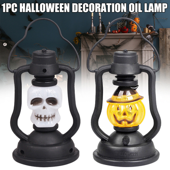 Halloween Latern Handlamps Party Haunted House Decorations Halloween Light Up Pumpkin Lanterns for Best Halloween Drop Shipping image