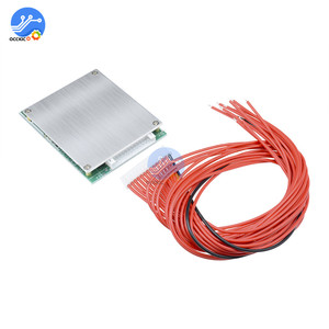 Image 4 - 13S 35A 48V Li ion lityum 18650 pil paketi BMS PCB kartı PCM dengesi entegre devreler kurulu Arduino için