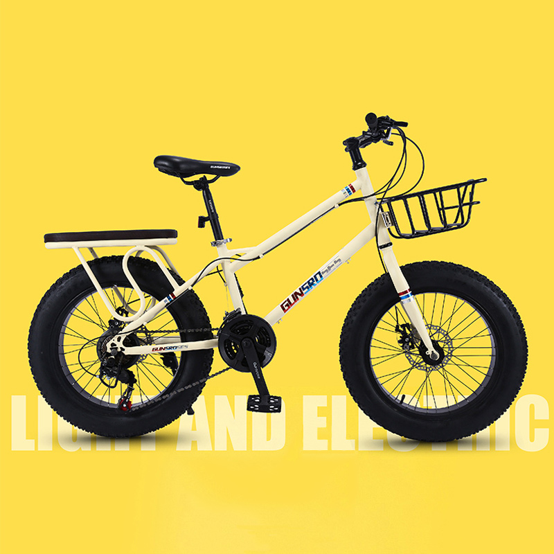 Mountain Bike 4.0 Super Wide Tire Beach Snowmobile 26 Inch Lady Commuter Cross Country Ladies Bicycle Adult Students