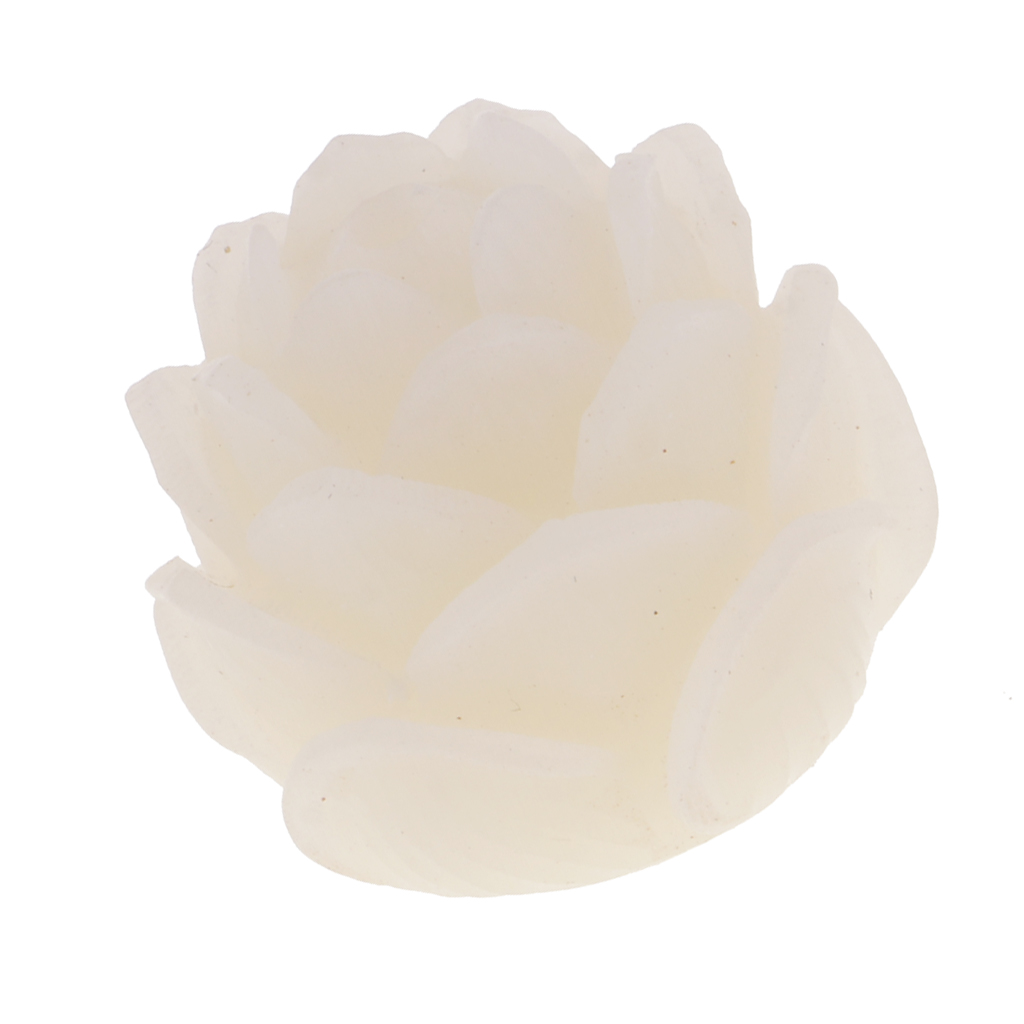 New White Bodhi Seed Tibetan Buddhist Prayer Beads Carve Lotus Bracelet Jewelry