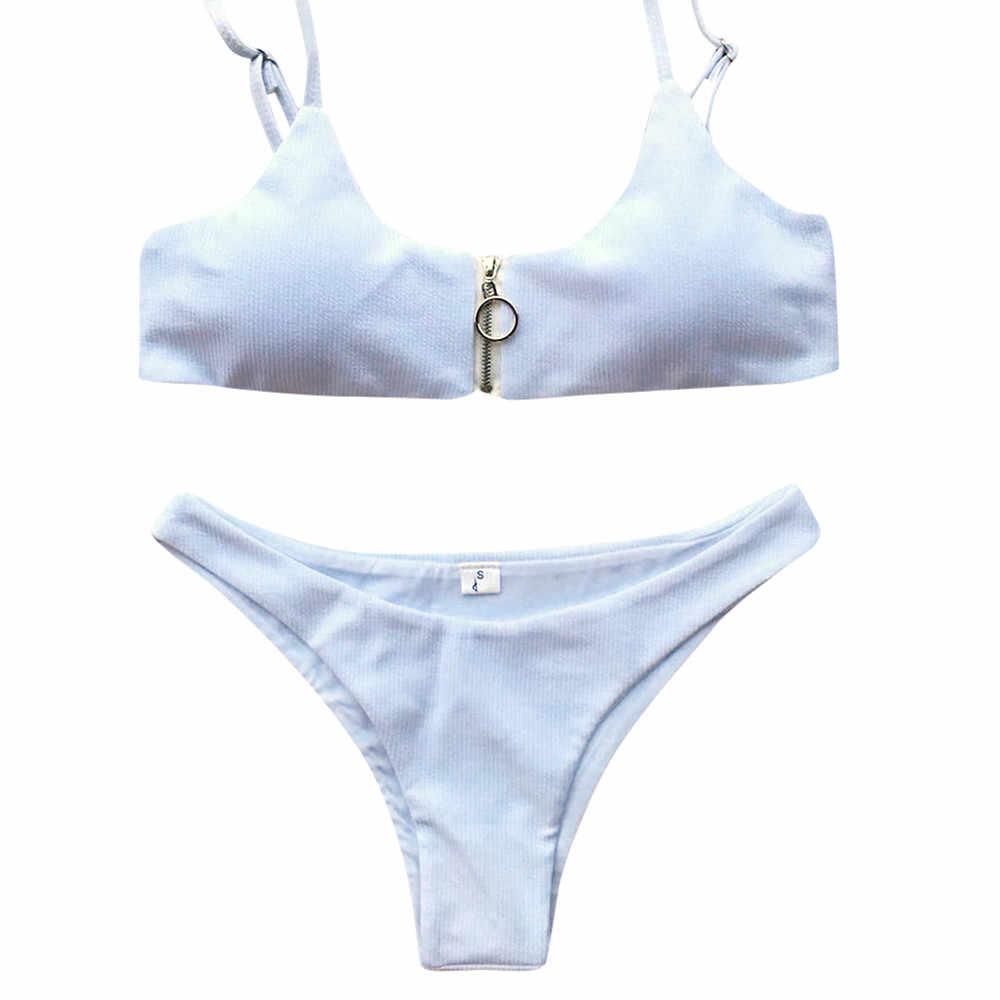 Frau bikini Sexy Frauen Verband Sexy Set Padded Push-Up-Bh Strand Bikini Set Badeanzug Bademode Schwarz Set Strand Tragen S-L