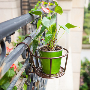Image 2 - 強力な多彩な軽量幾何学的な金属植物スタンド植物棚ラック屋内 myding
