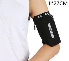 טלפון Armband שרוול הטוב ביותר ריצה ספורט Arm Band רצועה מחזיק פאוץ תיק מקרה עבור iphone סמסונג חדר כושר אימון כושר